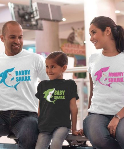 Daddy Shark Doo Doo Shirt, Mommy Shark, Baby Shark, Family Shirt