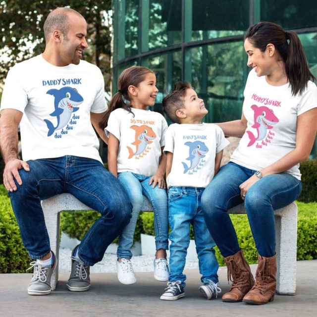 Daddy Shark Baby Shark Shirts, Mommy Shark, Family Shirts