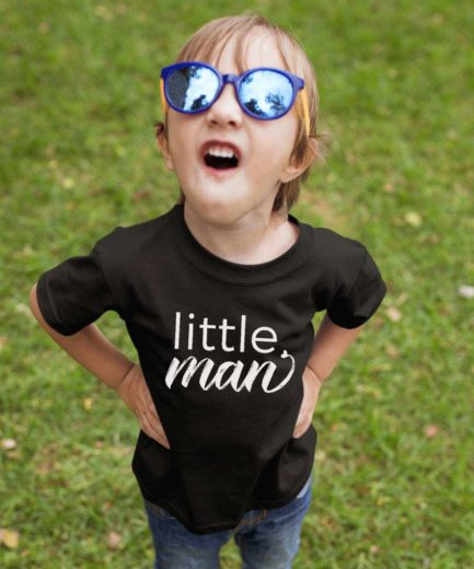 Little man Little miss Shirts, Kids Set, Family Matching Shirts