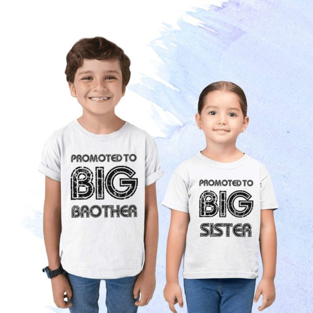 Promoted to Big Brother Shirt, Promoted to Big Sister, Family Shirts