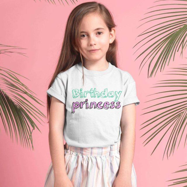 Birthday Princess Shirt, Birthday Girl Shirt, Siblings Matching Shirts