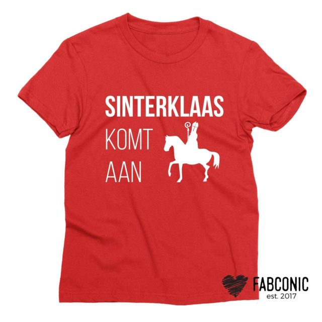 Sinterklaas Komt Aan, Christmas Family Shirts, Christmas Outfit