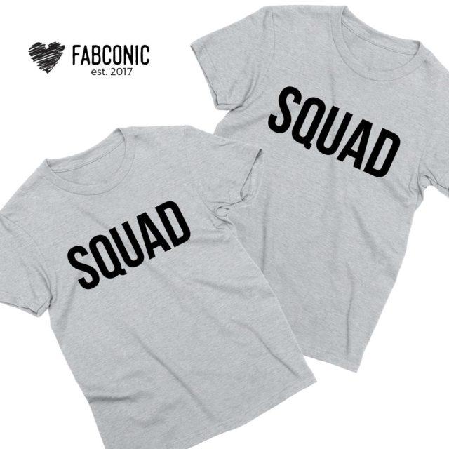Squad Couple Shirts, Matching Couple Shirts, Squad Shirts