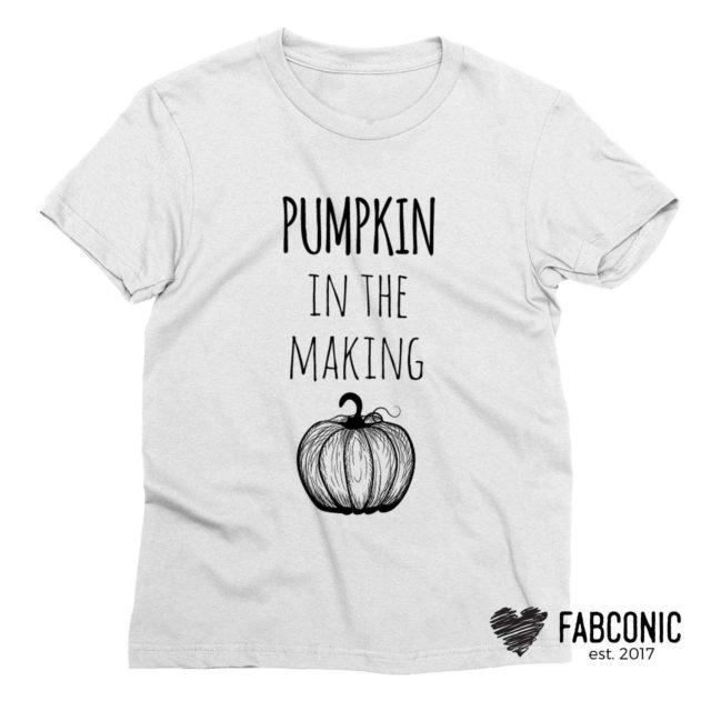 Thanksgiving Pregnancy Shirt, Pumpkin in the Making, Funny Pregnancy Shirt