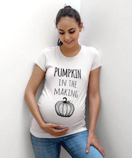 Thanksgiving Pregnancy Shirt, Pumpkin in the Making, Funny Pregnancy Shirt