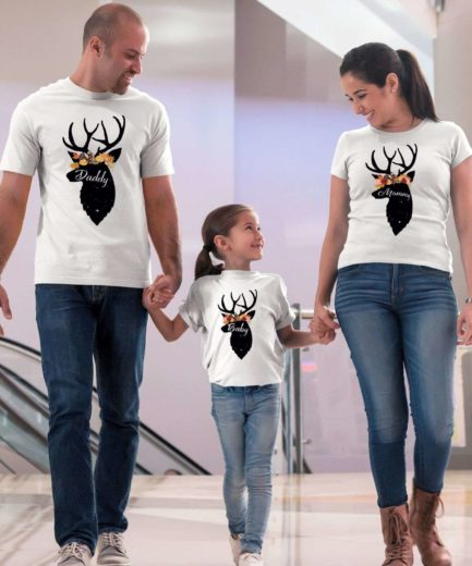 Thanksgiving Deer Shirts, Family Shirts, Thanksgiving Shirts