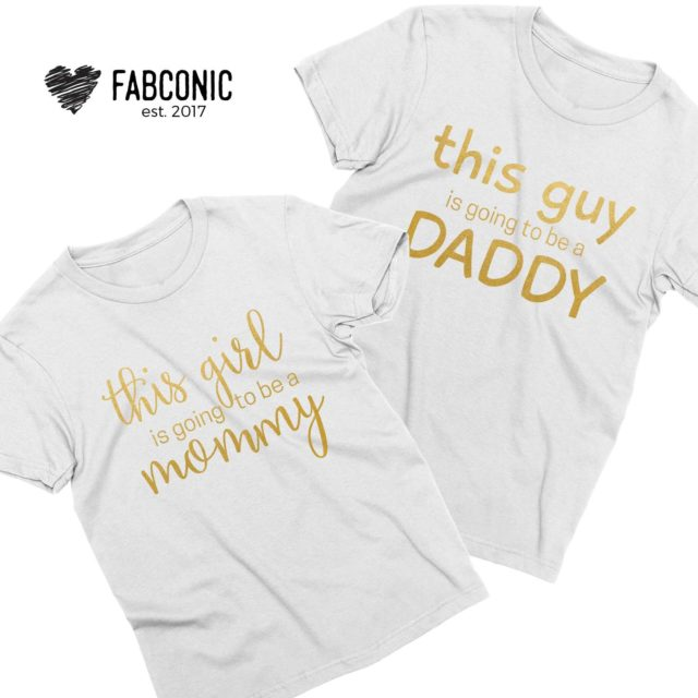 Pregnancy Reveal Shirts, This girl is going to be a Mommy