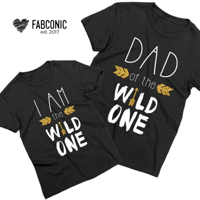 Wild One Birthday Shirts, Dad of the Wild One, I am the Wild One Shirt