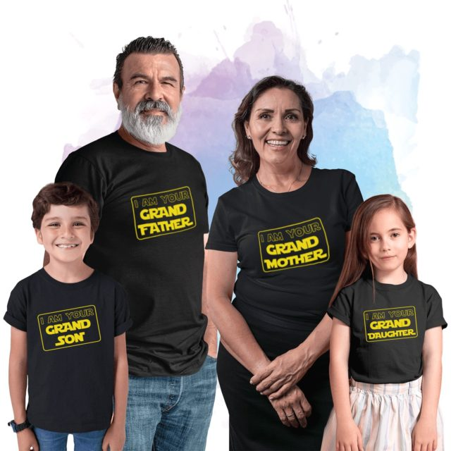 Funny Grandfather Grandson Shirts, I am Your Grandfather, Your Granddaughter