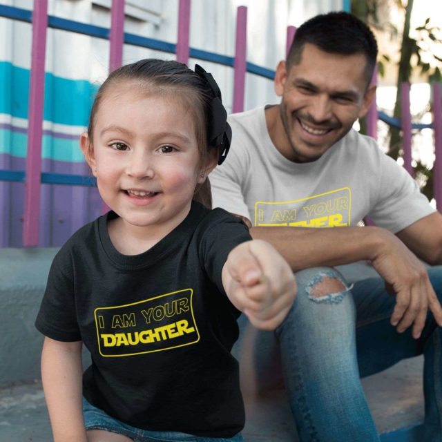 Funny Father Daughter Shirts, I am Your Father, I am Your Daughter