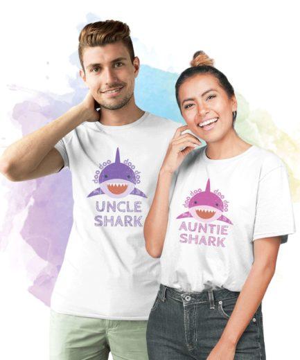 Uncle Shark Baby Shark Aunt Shark, Family Sharks, Family Shirts