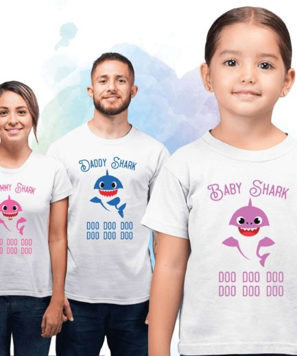 Mommy Daddy Baby Shark, Dancing Shark, Family Sharks, Family Shirts