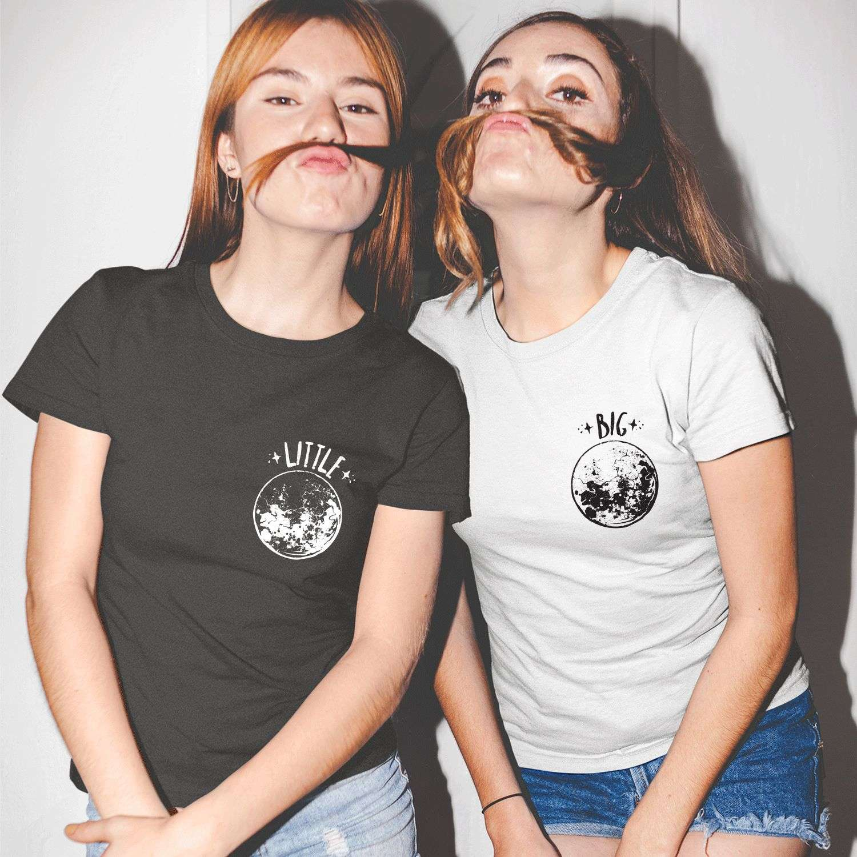0ec1d6152 Big Little Gbig Shirts, Sorority Shirts, Full Moon and Stars, Best Friends  Shirts