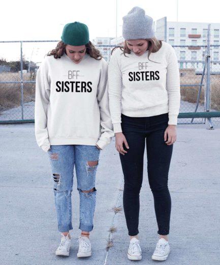 BFF Sisters Sweatshirts, Matching Best Friends Sweatshirts, Gift for BFF