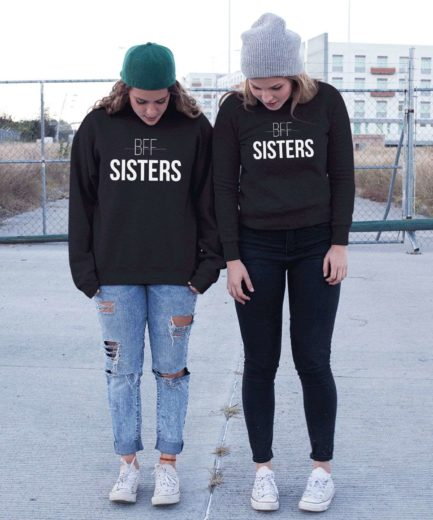 BFF Sisters Sweatshirts, Matching Best Friends Sweatshirts, Gift for BFF