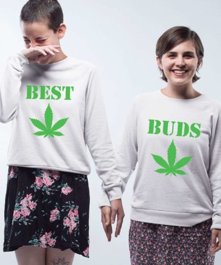 Best Buds Sweatshirts, Matching Best Friends Sweatshirts