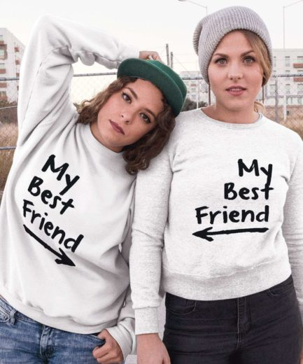 My Best Friend Sweatshirts, Matching Best Friends Sweatshirts