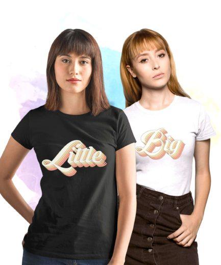 Gift for Big Little, Sorority Shirts, Retro, Best Friends Shirts