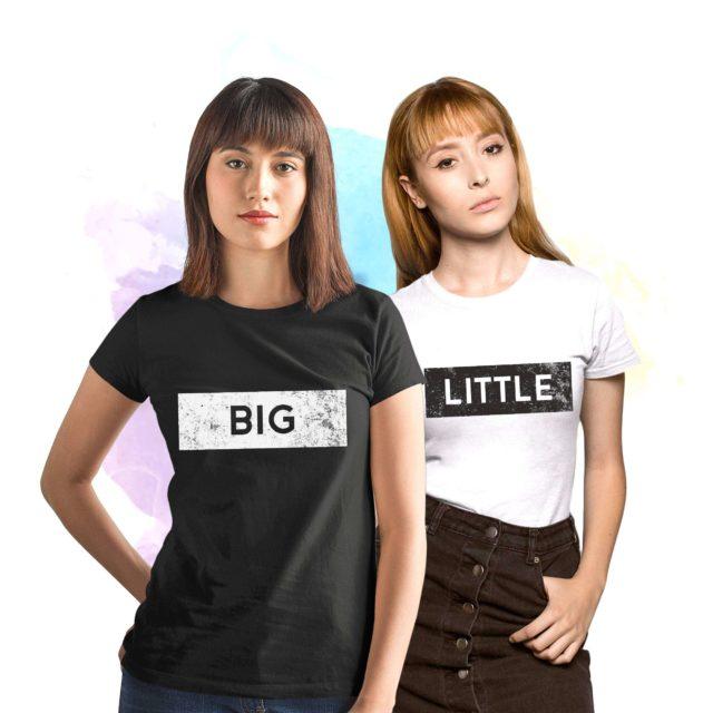 Big Little Reveal, Sorority Shirts, Textured, Best Friends Shirts