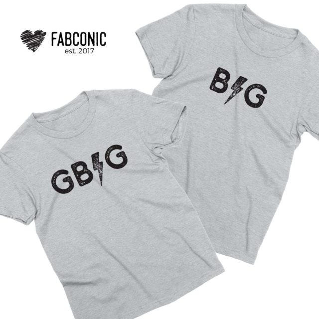 Big Little Reveal Shirts, Sorority Shirts, Textured Thunder, Best Friends Shirts