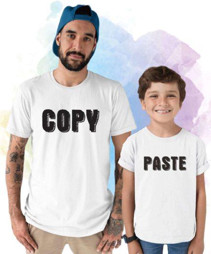 Copy Paste Shirts, Father & Kid Shirts, Matching Father Kid Shirts