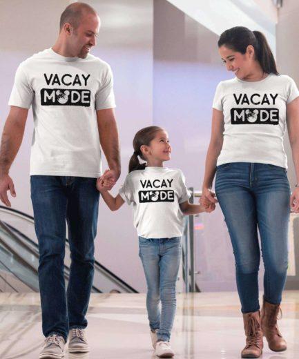 Vacay Mode Family Shirts, Family Vacation Shirts, Matching Shirts