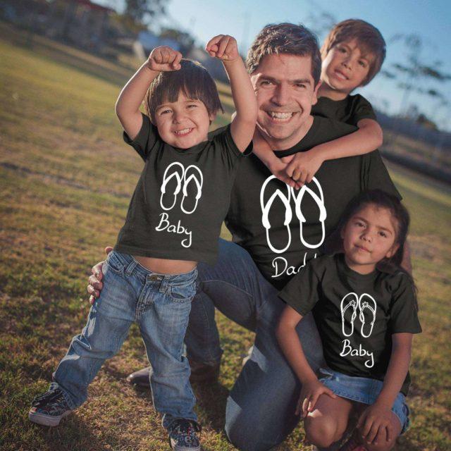 Family Vacation Shirts, Flip Flops, Matching Family Shirts