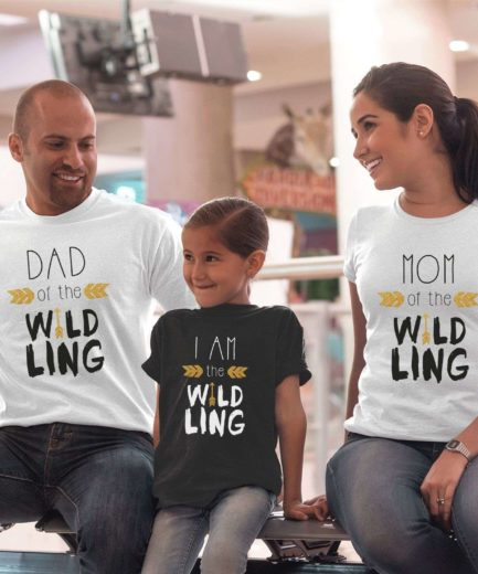 Wildling Family GOT Shirts, Dad Mom I am the Wildling, GOT Family Shirts