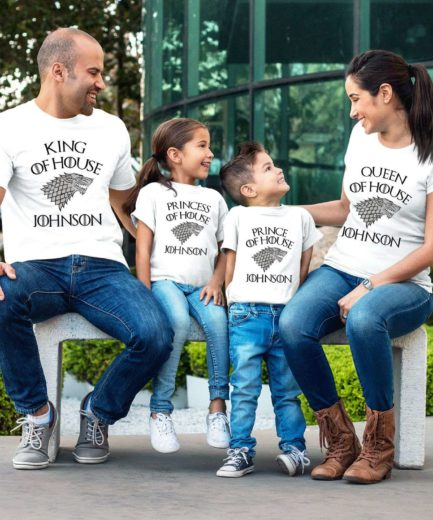 Custom GOT Family Shirts, Custom Name, GOT Family Shirts