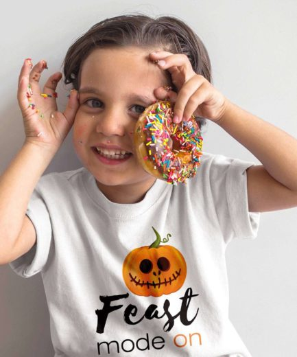 Halloween Kid Shirt, Feast Mode On, Halloween Costume Ideas