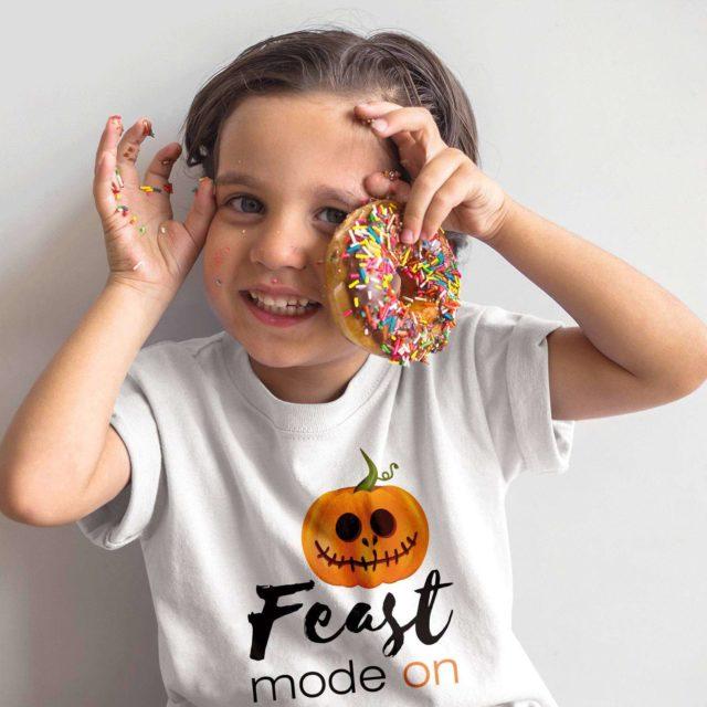Halloween Kid Shirt, Feast Mode On, Halloween Costume Ideas