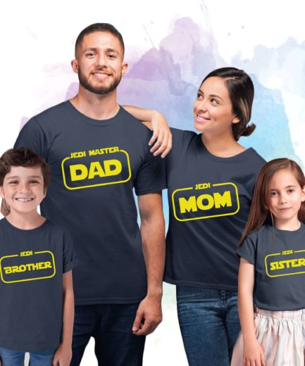 Jedi Family, Matching Family Shirts, Funny Jedi Shirts, Mom Dad Baby