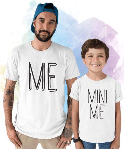 Daddy and Me Shirts, Me, Mini Me, Father & Kid Matching Shirts