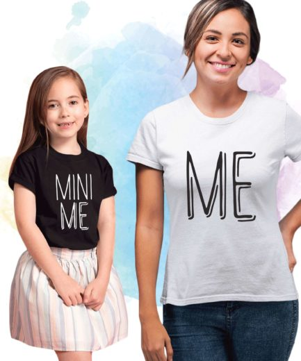 Me Mini Me Shirts, Mother & Kid Shirts, Matching Mommy and Me Shirts