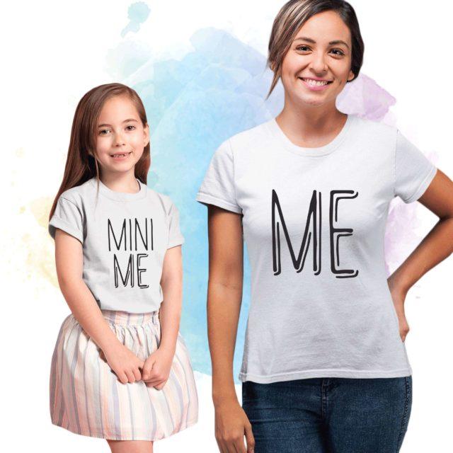 Me Mini Me Shirts, Mother & Kid Shirts, Matching Mommy and Me Shirts