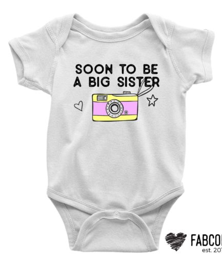 Big Sister Shirt, Soon to be a Big Sister, Gift for Sister, Siblings Shirts
