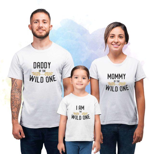 Sibling Birthday Shirts, Wild One Family, Family Birthday Shirts
