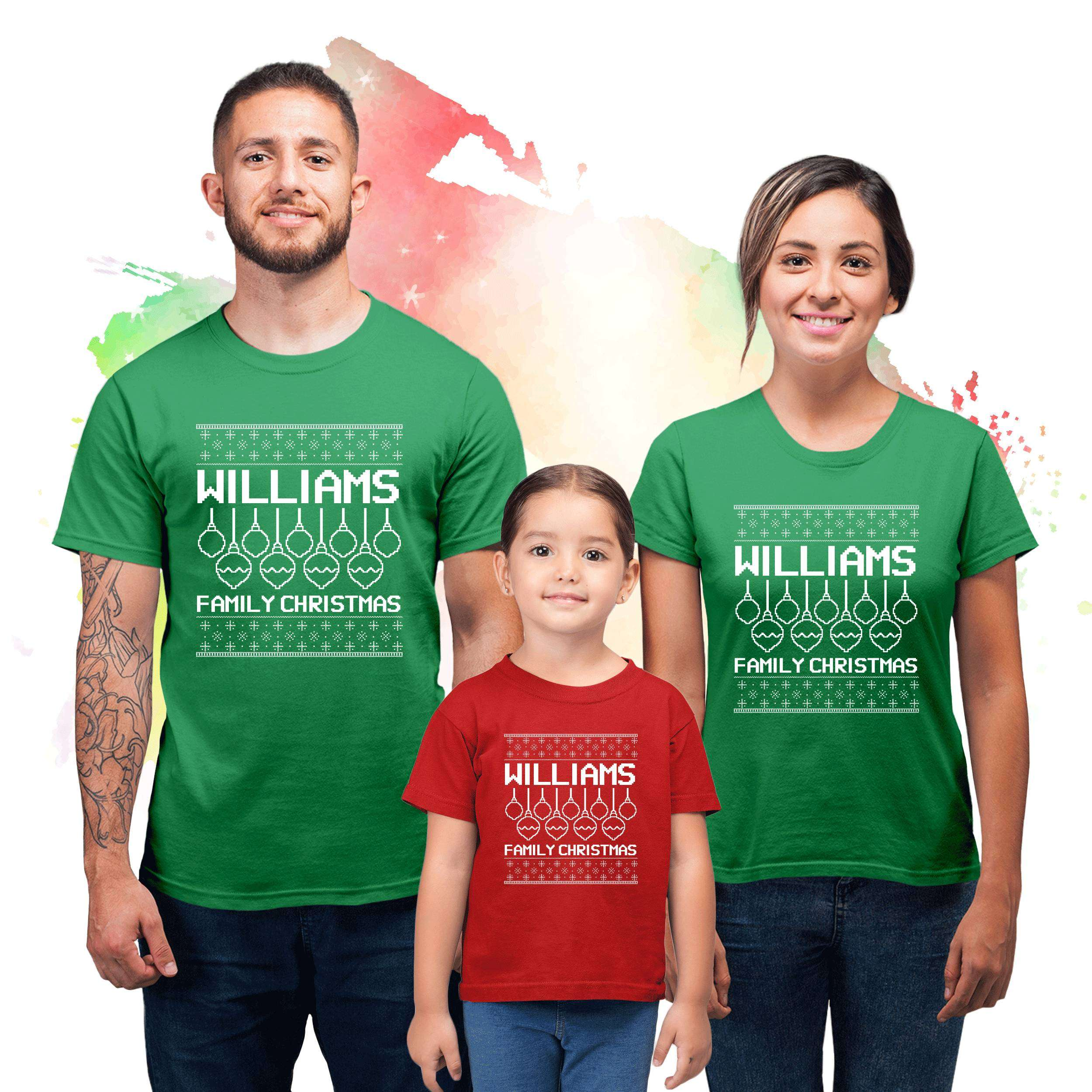 Ugly Christmas Family Pictures.Custom Ugly Christmas Shirts Christmas Family Shirts