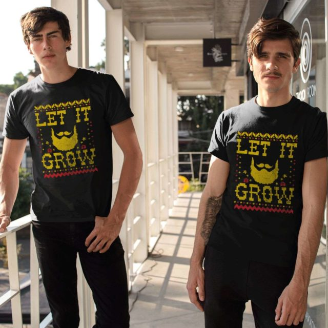 Let It Grow Christmas Mens Shirt, Christmas Gift for Men, Christmas Gift