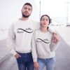 Couples Sweatshirts, Forever Inlove Matching Couples Sweatshirts