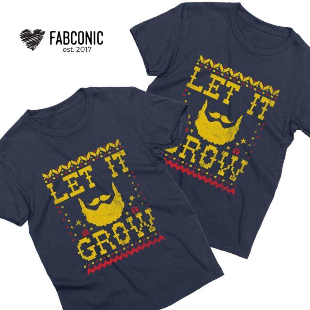 Let It Grow Christmas Mens Shirt, Christmas Gift for Men, Christmas Gift