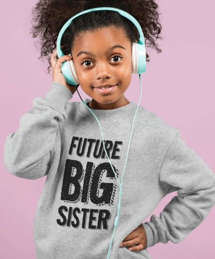 Future Big Brother Future Big Sister Sweatshirts, Family Sweatshirts