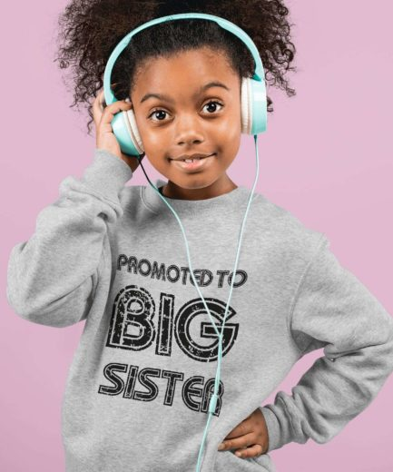 Promoted to Siblings Sweatshirts, Promoted to Big Brother, Big Sister, Family Sweatshirts