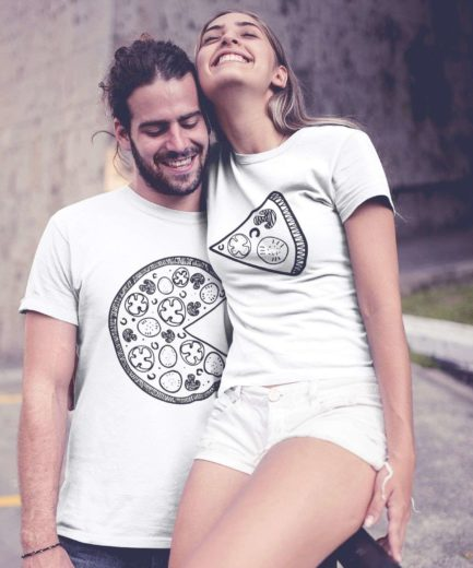Pizza Couple Shirts, Pizza Shirts, Matching Funny Couples Shirts