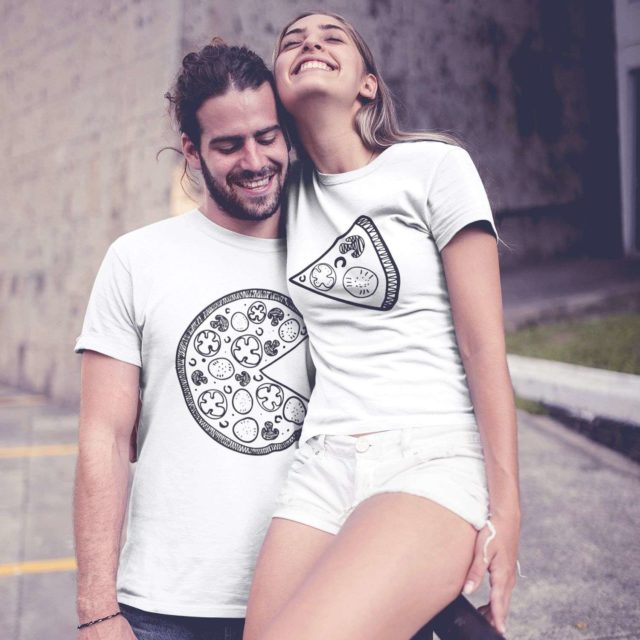 Pizza Couple Shirts, Pizza Shirts, Matching Funny Couples Shirts