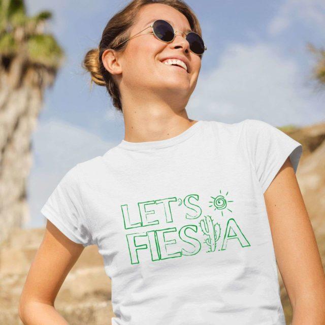 Let's Fiesta Shirt, Cinco de Mayo Shirt, Funny Womens Shirt, Drinking Shirt