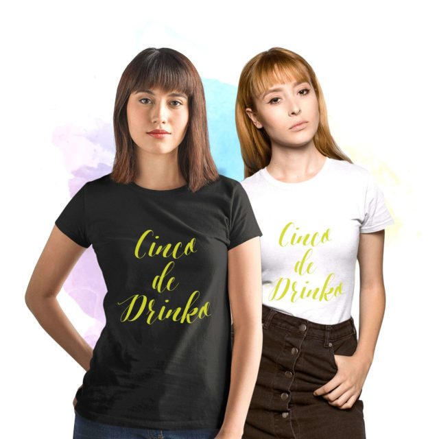 Cinco de Drinko BFF Shirts, Cinco de Mayo Shirts, Funny BFF Gift