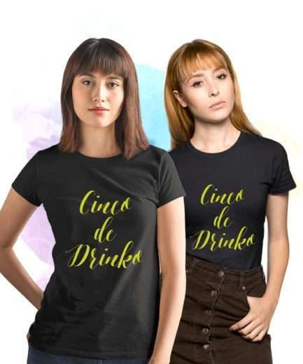 Cinco de Drinko BFF Shirts, Cinco de Mayo Shirts, Funny BFF Gift