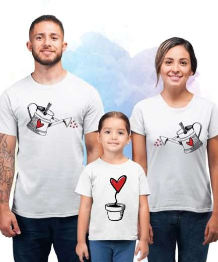 Growing Flower Family Shirts, Matching Shirts for Family