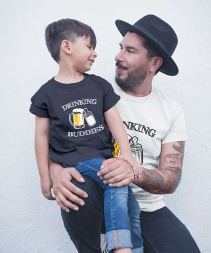 Drinking Buddies Shirt, Father & Kid Shirts, Father's Day Gift